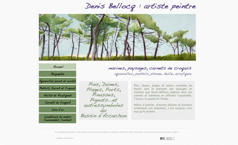 Bellocq Peintre à Arcachon