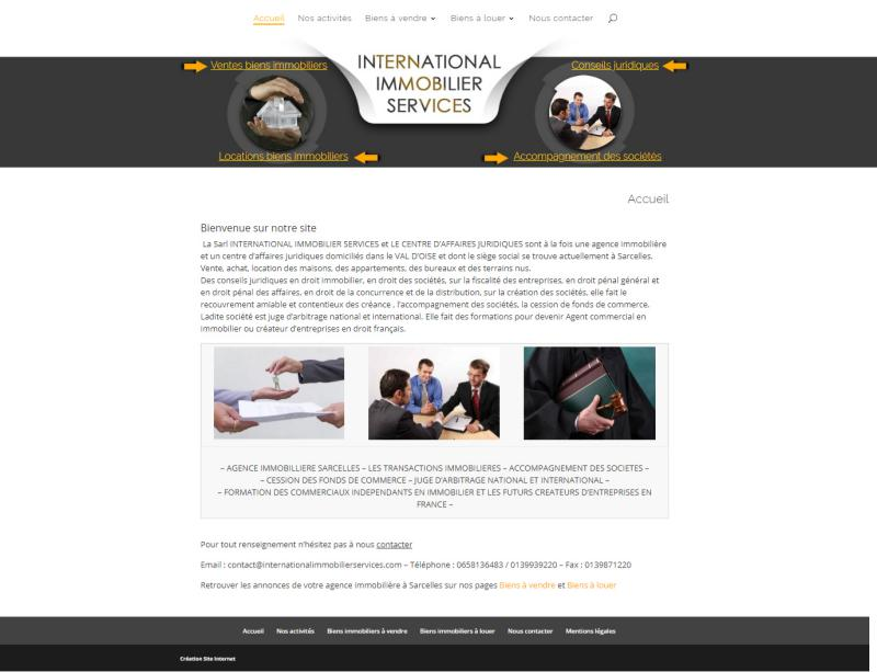 International Immobilier services