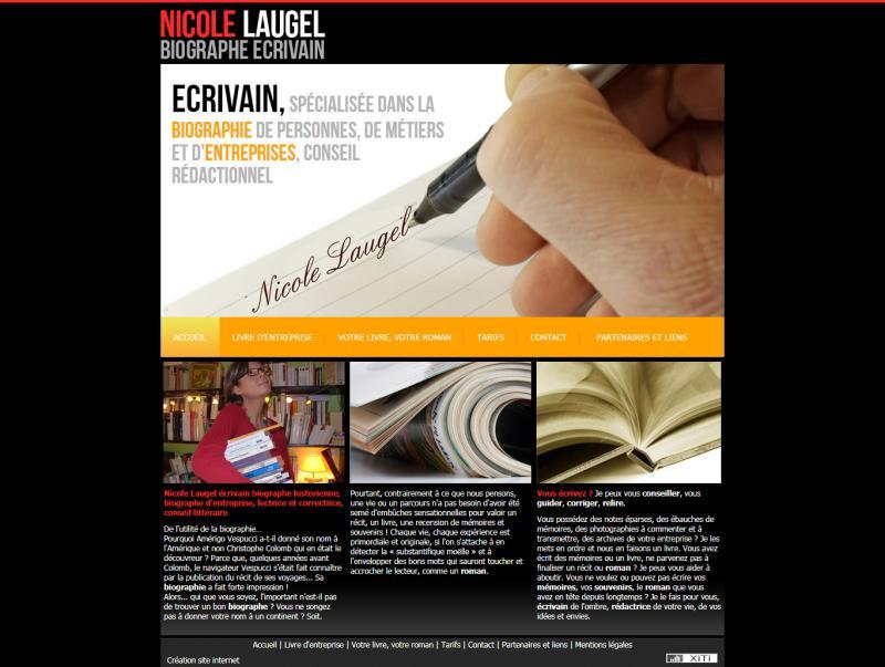Laugel Biographe Ecrivain