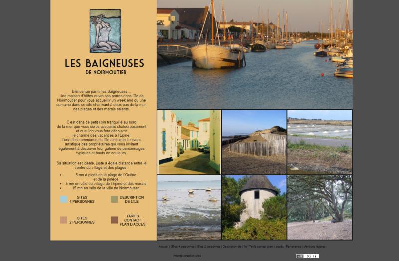 Les baigneuses de Noirmoutier