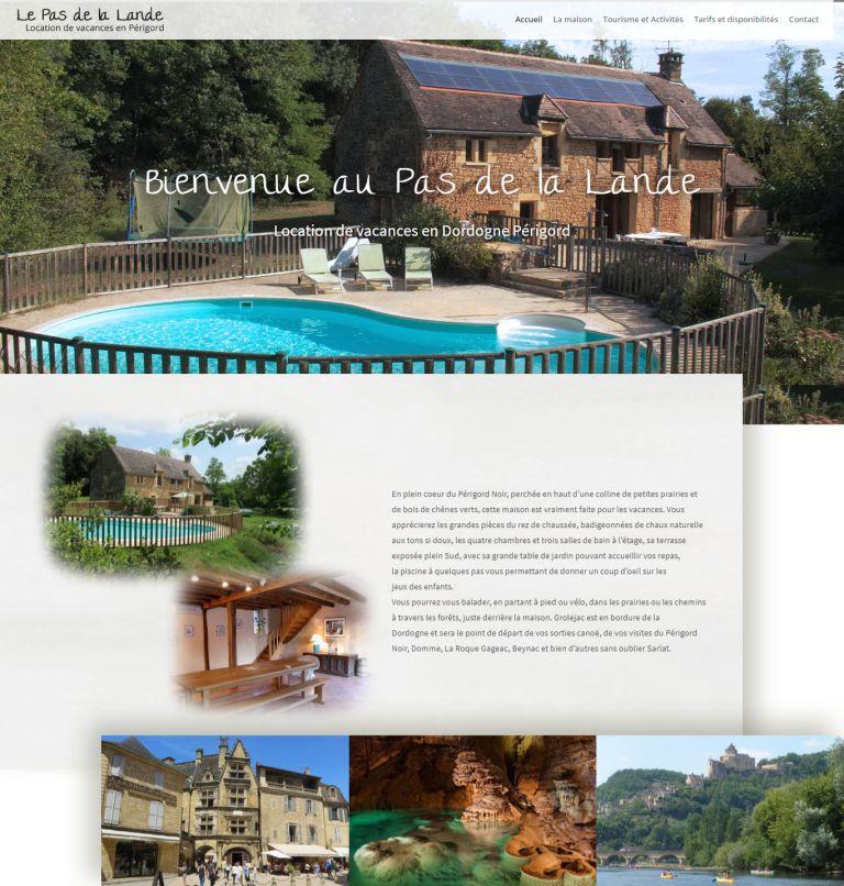 Maisons vacances en Dordogne